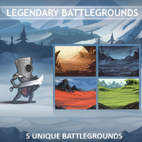 5 types of backgrounds and UI for your game.
