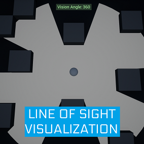 A Blueprint framework for visualizing Line of Sight zones in Unreal Engine.