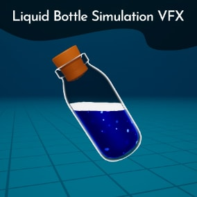 Simulates liquid in bottles based on movement/Velocity (can also be used with physics ).