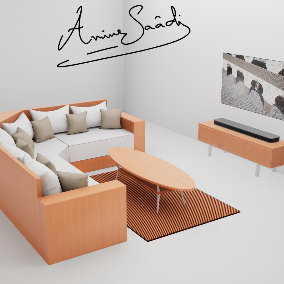 A living room ready to be used in your game, or VR project, 22 Meshes with custom collision and 2 blueprint for easy to build.