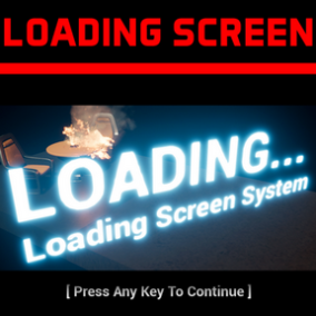 Versatile & Easy to use LOADING SCREEN SYSTEM. Interactivity, Minigames, Videos and Progress Bars during loading. Examples included!