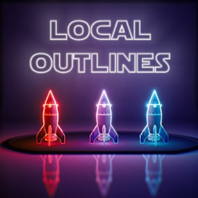 Local Outlines is a collection of materials that utilize decals to draw colorful lines across edges of your models.