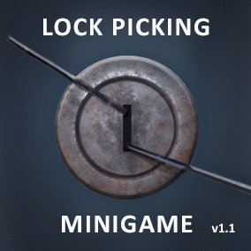Simple to implement Lockpicking Minigame System with Gamepad Support