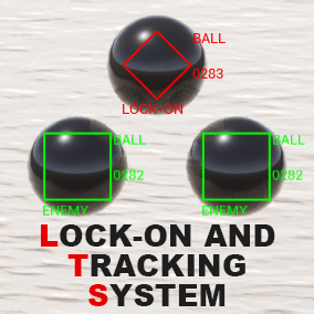 This system automatically tracking a target and displays as a marker. Also, provides four targeting functions that lockon the enemy.
