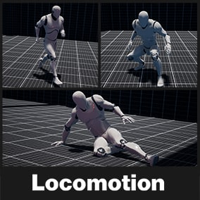 Locomotion is a plug & play modular locomotion system, Select your game genre TPS or TopDown even 2D Side Scroller customize your system in realtime!  and make your game today, By Hero's Journey