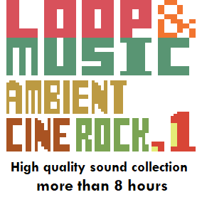 Loop & Music Vol. 1 (Ambient, Cinema, Rock) is loops & music asset of music genres such as Ambient, Cinema, Rock in. And This asset will be useful for various scenes and various works.
