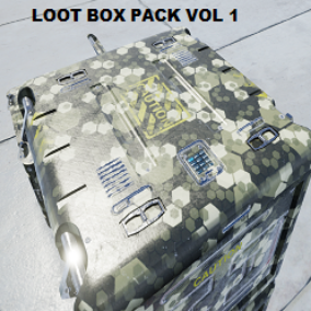 Game ready loot box pack