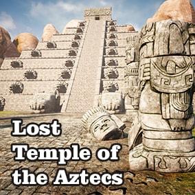 The modular asset that allows you to create a Mesoamerican environment.