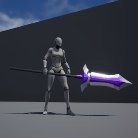 15 Epic Low Poly Fantasy Spears