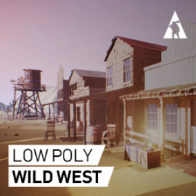 TROLL CAVE proudly presents LOW POLY modular asset pack for Wild West-themed projects.
