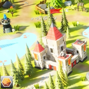 PolyArt3D presents - Low Poly Tower Defense!