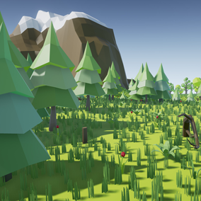 Asset composed by trees of different typical locations like city, desert, forest or country. Also there are different vegetation like different grass, bushes, bamboo and plants. Include 79 meshes and 386 variations with the included materials.