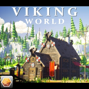 PolyArt3D presents - Low Poly Viking World