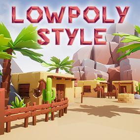 Build your own desert and wildwest levels and landscapes with this asset pack, or use the huge demoscene!