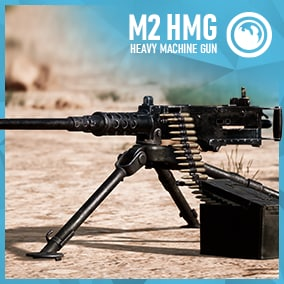Game Ready playable Heavy Machinegun with animations