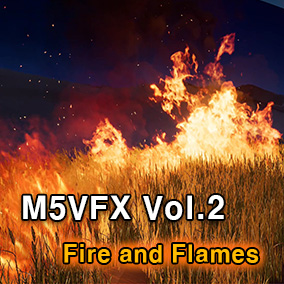 With this asset, you can produce high quality fire and flame.