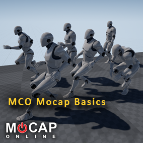 20 Mocap Animations - Variety of Idles and Movement from MCO