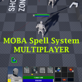 A set of Blueprints that helps you create spells, items, buffs and other in MOBA style. Full multiplayer support.
