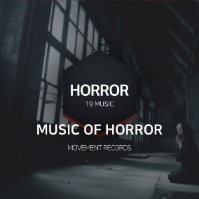 blockbuster sound produced for horror, ghost, mystery, fear, Scary