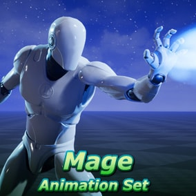 A set of 54 third-person animations for magic wielding characters such as mages, necromancers, summoners, wizards, etc!