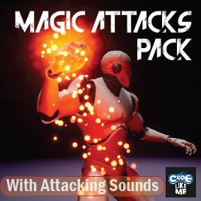 Niagara based Magic Attacks Pack