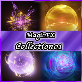 This package is an asset pack that has KYmagicFX2, 3, 4, and 5 combined into one.