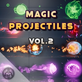 60 Magic Projectiles, Spells, Fireballs, Orbs, Special Skills and more for your game!