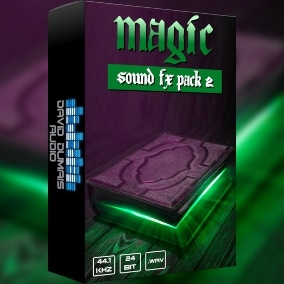 A massive pack of high-quality, professionally produced magic sounds for your game!