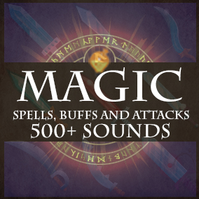 A collection of 500+ magic spells, buffs, attacks and sounds for RPGs, MMOs and other Fantasy Games.