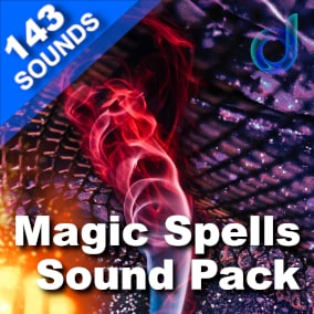 A fantastic package of 143 professional-quality & game-ready sound effects for general magic, huge elemental spells, casting loops, healing, and much more.