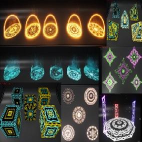 Magical circle-Array-Aura-Shield Pack 56 effect