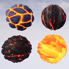8 stylized materials