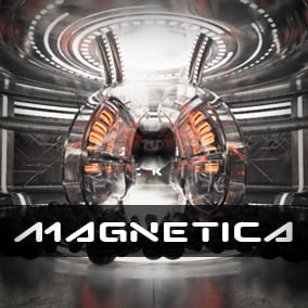 Sci-fi Magnetic Field Environment