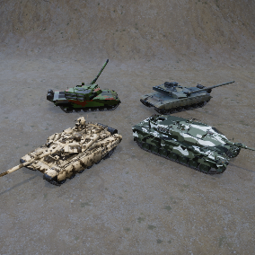 Fully functional Tanks Pack with SFX, VFX.