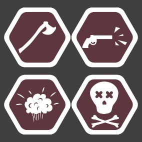 Map Icons Pack - this is a great set of modular map icons. Perfect for making games.
