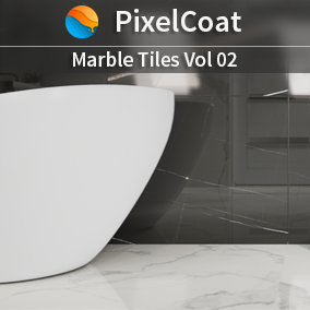 Marble Tiles Volume 2 has 54 materials selected from existing tiles collections meant for floors and decorative walls. They are ready for any platform, including mobile and ray-tracing enabled projects.  Included 4k.