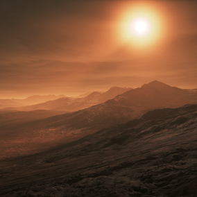 Mars Landscape is an 8x8 Kilometers landscape, taking you right into the middle of the red violent planet!