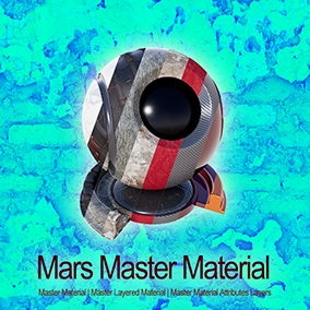 Customized Master Material, Master Layered Material, Master Material Attributes Layers and Master Landscape Material with 40 Material Function. Suitable for learning and practical projects.