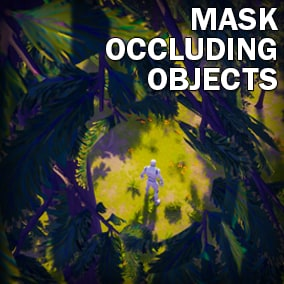 Masks out surfaces that block the camera from seeing the player character. Only affects what lies within a perimeter, leaving the rest of the mesh visible.