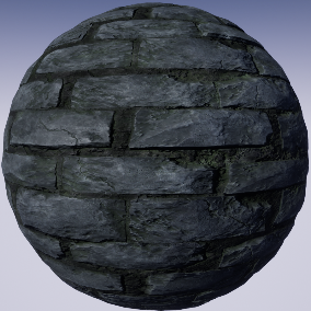 PBR material with high resolution (4096x4096): Masonry meterials consisting of 20 units.