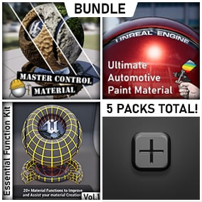 A Collection/Bundle of ALL MATERIAL PACKS on our marketplace.