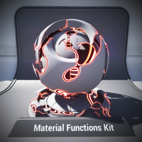 Create unique effects and shaders using the new Material Functions.
