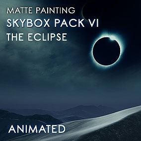 Sixth version of the acclaimed Animated Skybox Pack now features epic eclipse scenes!