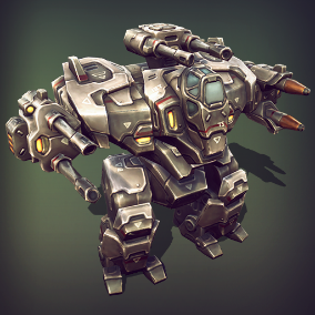 Over 20 different modules, that will allow you to assemble multiple upgrades of the heavy mech.
