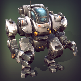 Over 70 different modules, that will allow you to assemble numerous combinations of animated and ready to fight mechs.
