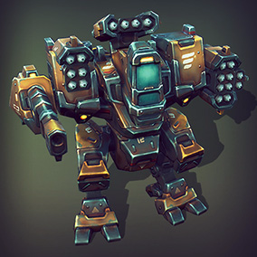 Over 60 different modules, that will allow you to assemble numerous combinations of mechs and flying units.