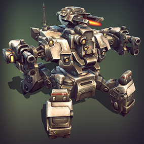 Over 70 different modules, that will allow you to assemble numerous combinations of mechs, tanks and buggies.