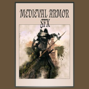 Medieval Armor SFX contains 198 mono and 198 stereo sounds