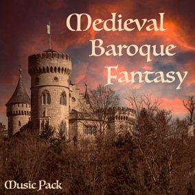 Music Pack designed for medieval, baroque, fantasy, RPG, adventure, strategy, history or open world games.