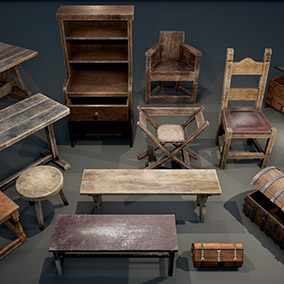 Medieval Furniture